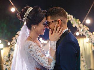 O casamento de Ana e Isaac