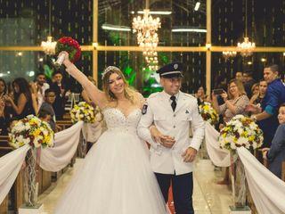 O casamento de Carla e Vinicius