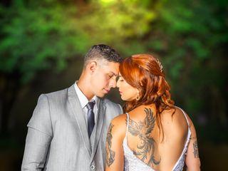 O casamento de Álvaro e Mariana