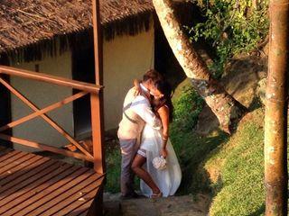 O casamento de Paula e Adam