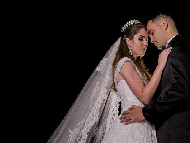 O casamento de Alana e Rodolfo