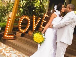 O casamento de Jaqueline e Michael