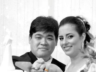 O casamento de Daiane e Lennon