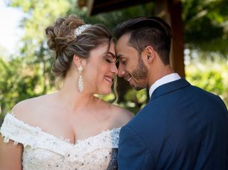 O casamento de Lyara e Leonardo