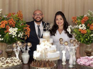 O casamento de Stefânia e Fábio