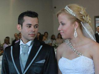O casamento de Caroline e Roberto