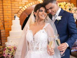 O casamento de D'Cassiane e João Eric