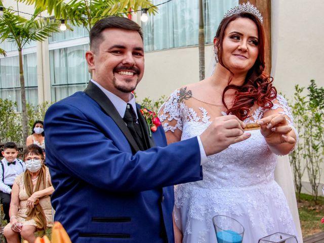 O casamento de Cleber e Aline em São Paulo, São Paulo 54