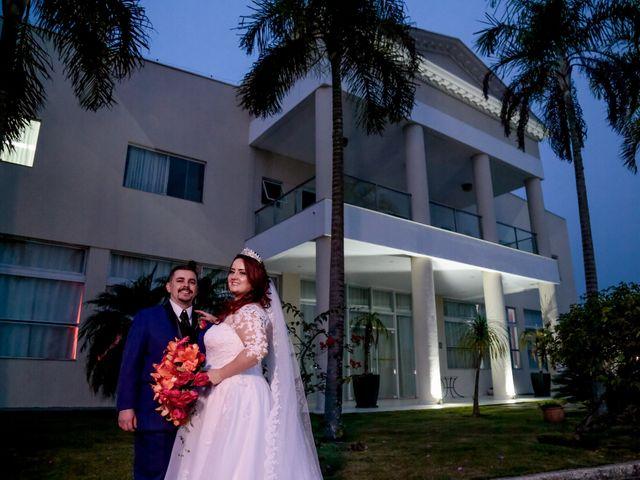 O casamento de Aline e Cleber