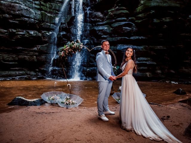 O casamento de Adriana e Luis Fernando