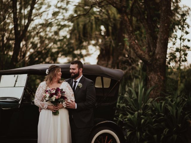 O casamento de Aline e Anderson