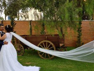 O casamento de Gislaine e Henrique