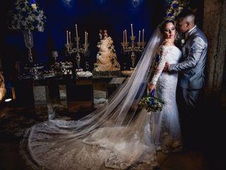 O casamento de Isabela e Hudson