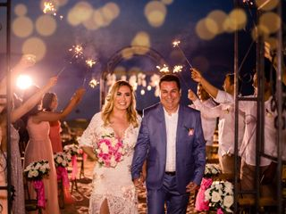 O casamento de Luciana e George