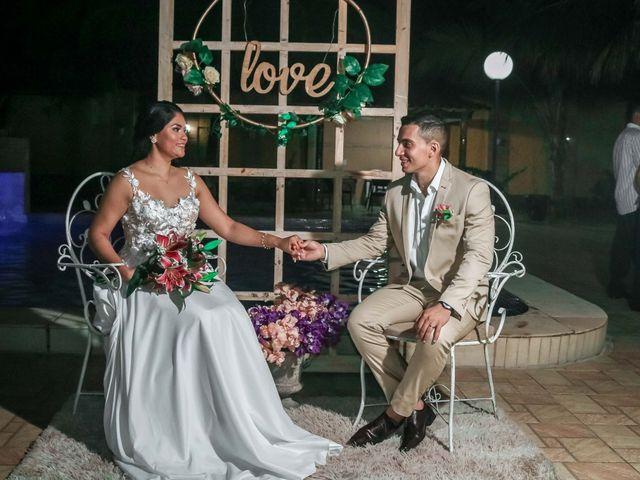 O casamento de Erika e Anderson