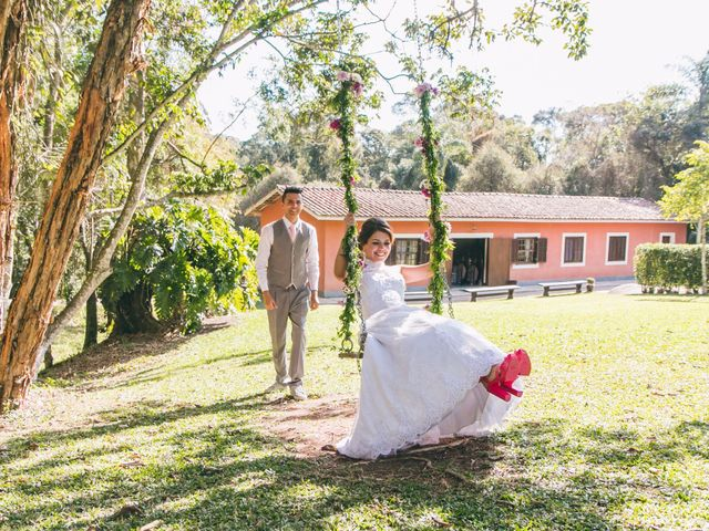 O casamento de Mel e Raphael