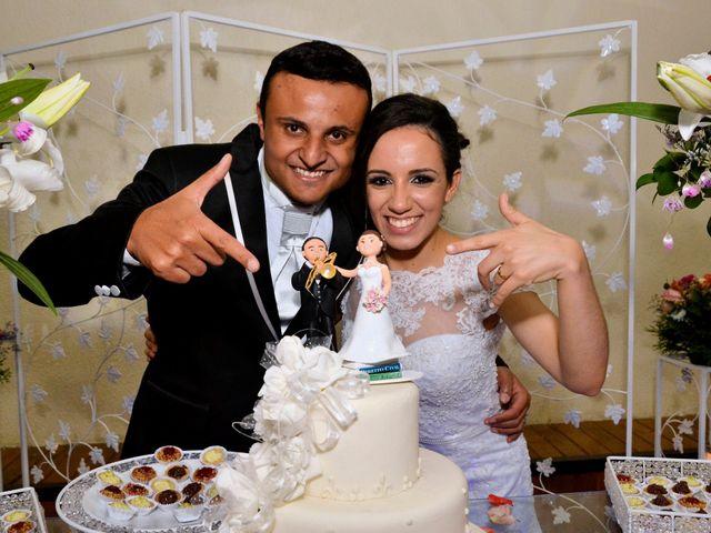 O casamento de Aline e Jonas