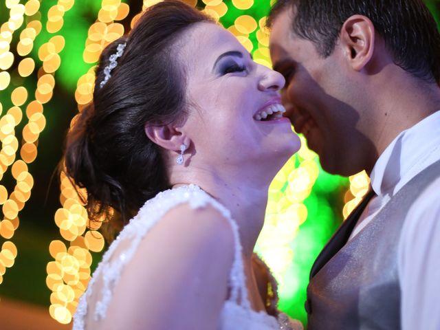 O casamento de Vivian e Roberto