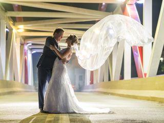 O casamento de Eduarda e Leandro