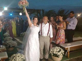 O casamento de Cássia  e Adolfo