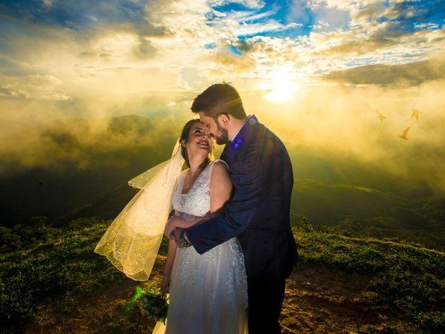 O casamento de Edson e Erika