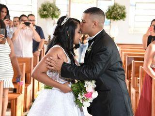 O casamento de Daniele e Julio Cesar