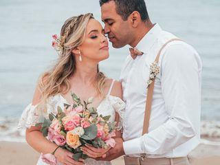 O casamento de Rose e Marconi
