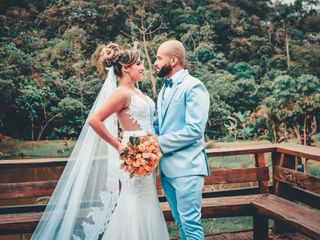 O casamento de Ester e Julio