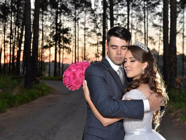 O casamento de Franciele e Gregory