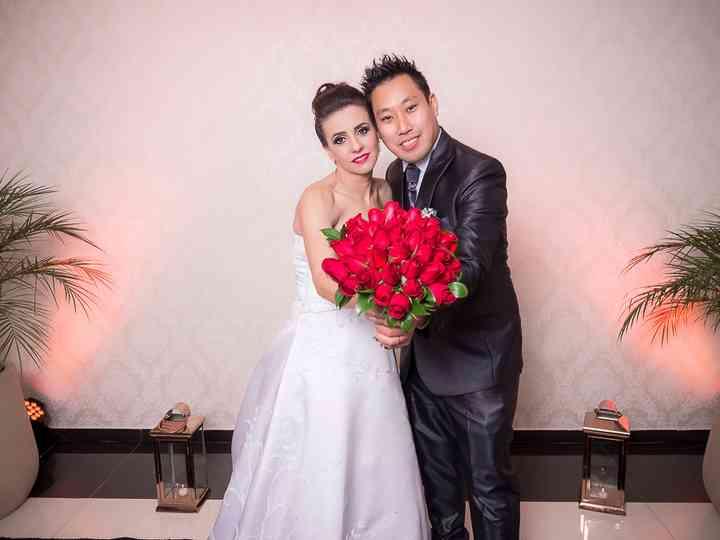 O casamento de Paula e Yudi