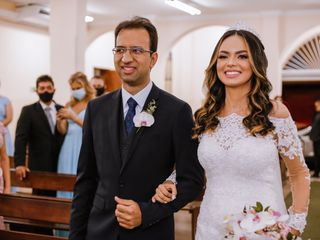 O casamento de Anna e Antônio