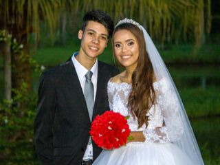 O casamento de Carol e Celso