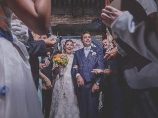 O casamento de Evelyn e Flavio