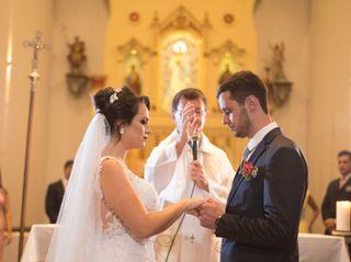 O casamento de Mariani e Leandro