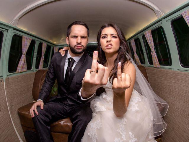 O casamento de Camila e Samuel