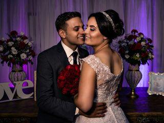 O casamento de Evelin e Bader Luan