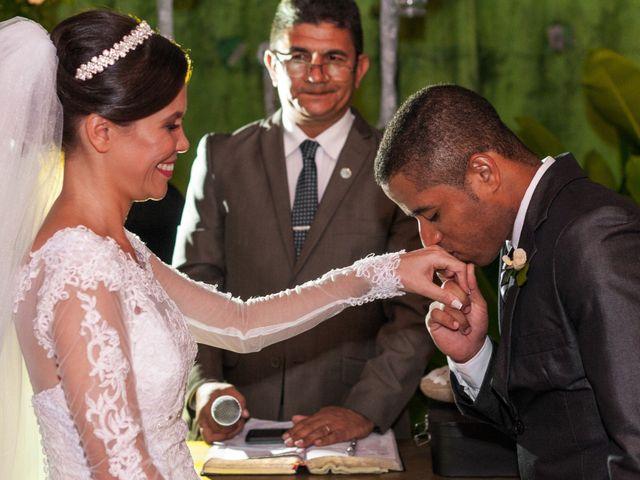 O casamento de Camila e Washington