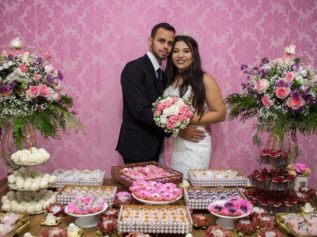 O casamento de Scarlate e Valter