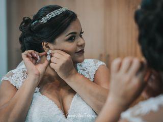 O casamento de Mariana  e Mathias 1