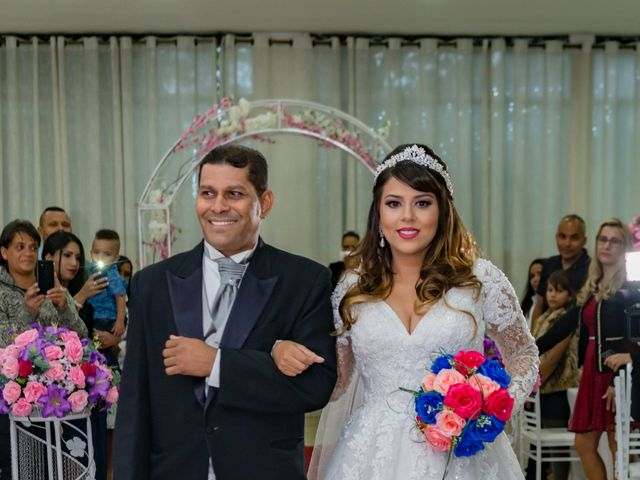 O casamento de Átila e Jéssica em Diadema, São Paulo 39