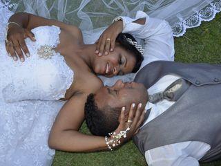 O casamento de Elma e Romeu