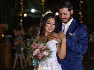 O casamento de Ariele e Júnior