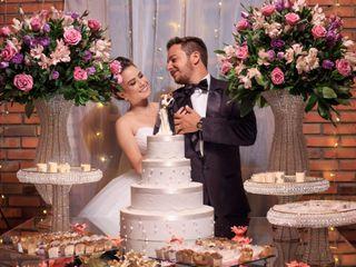 O casamento de Gesieli e Marcos
