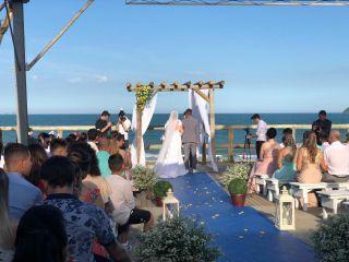 O casamento de Morgana e Alan