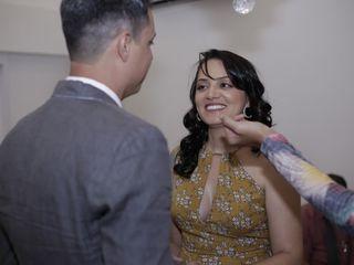 O casamento de Marcos Valarini e Gisele Barbosa 1