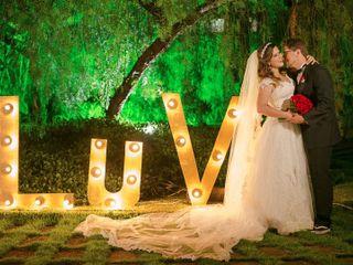O casamento de Lúcia e Victor