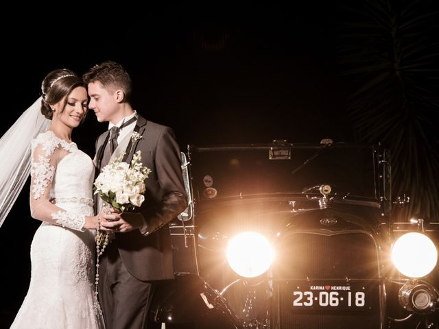 O casamento de Karina e Henrique