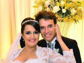 O casamento de Edcárcia  e Romário 1
