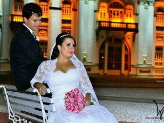 O casamento de Edcárcia  e Romário 2