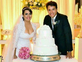 O casamento de Edcárcia  e Romário